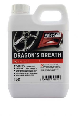 Valet Pro Dragons Breath Metal Contaminant Removal 1L